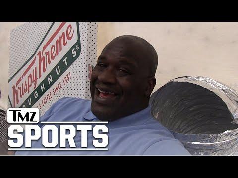 Shaq: Gunning to Own 100 Krispy Kreme Stores!!   TMZ Sports