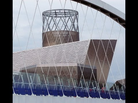 Salford Quays and Media City travel guide video