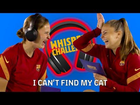 ???????? WHISPER CHALLENGE: LIEKE MARTENS VS CAROLINE GRAHAM