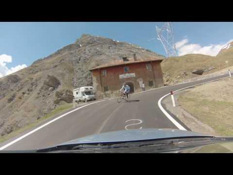 Car Webcam 200% fast motion – Da BORMIO al PASSO DELLO STELVIO (Stilfser Joch)