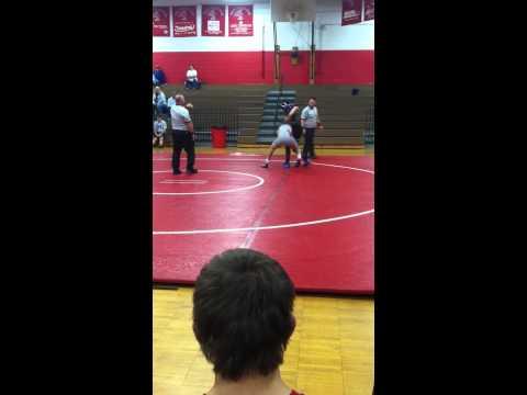 Mack George wrestling 195 west lincoln high school