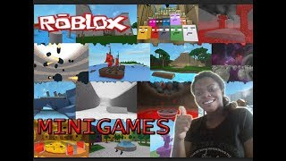 GAME TO LOT MINIGAMES ON ROBLOX!