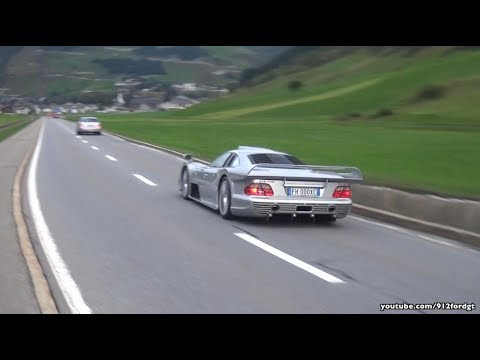 Mercedes Clk Gtr Amg Acceleration Sound Drag Race With 911 Gt1