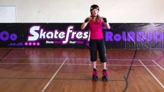 How to spin on quads skates using the Toe Toe method