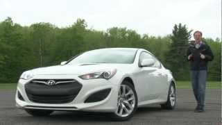 2013 Hyundai Genesis Coupe - Drive Time Review with Steve Hammes | TestDriveNow