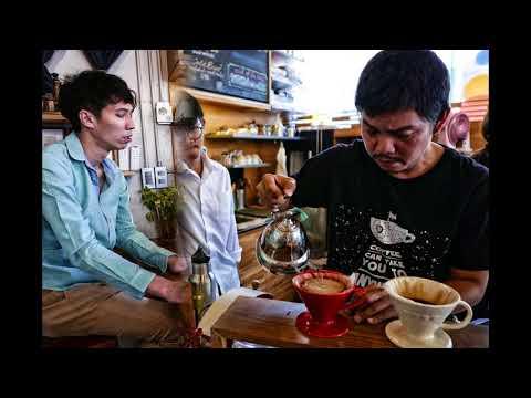 Gallery drip coffee in Bangkok