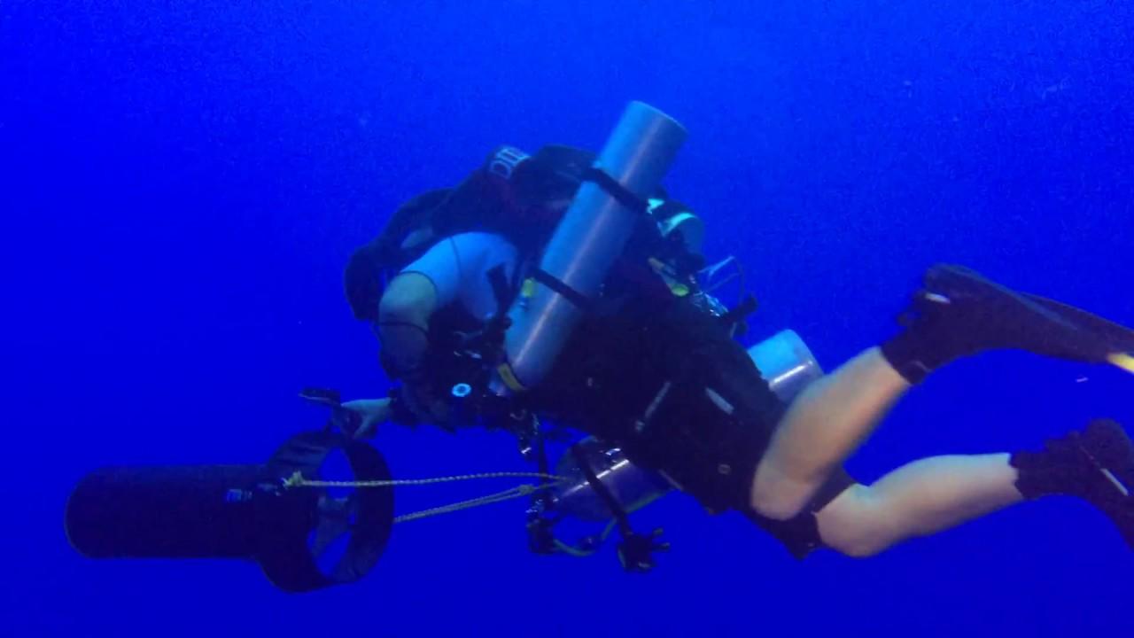 hawaii scuba university scuba rebreather training youtube