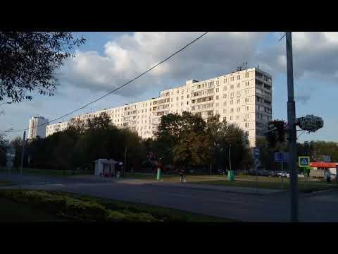Москва 627 улица Мусы Джалиля осень вечер