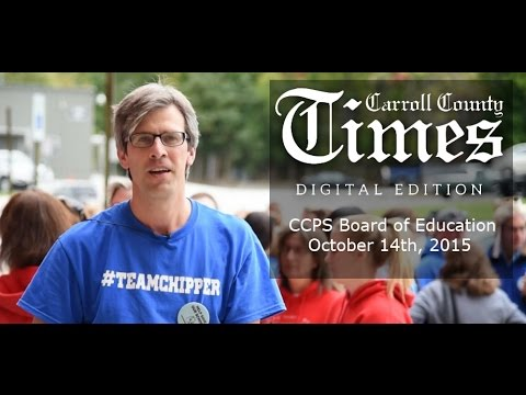 Board of Education Report - Carroll County Times - October 14th