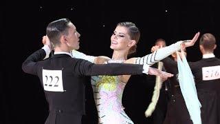 Evgeny Pushkarev - Ksenia Borisova RUS, Slow Foxtrot | WDSF Open Ten Dance