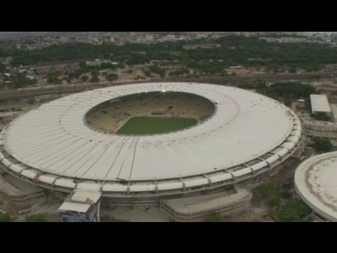 Roof installed on Maracana Stadium