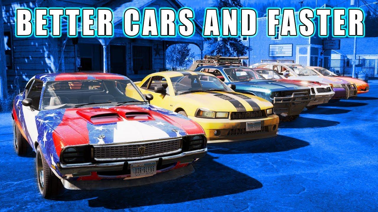 Far Cry 5 Best Cars