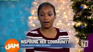 Inspiring her Community: Teen Volunteer Makes an Impact