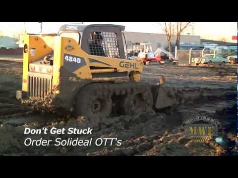 Camoplast Solideal Over The Tire Tracks OTT For Skid Steer