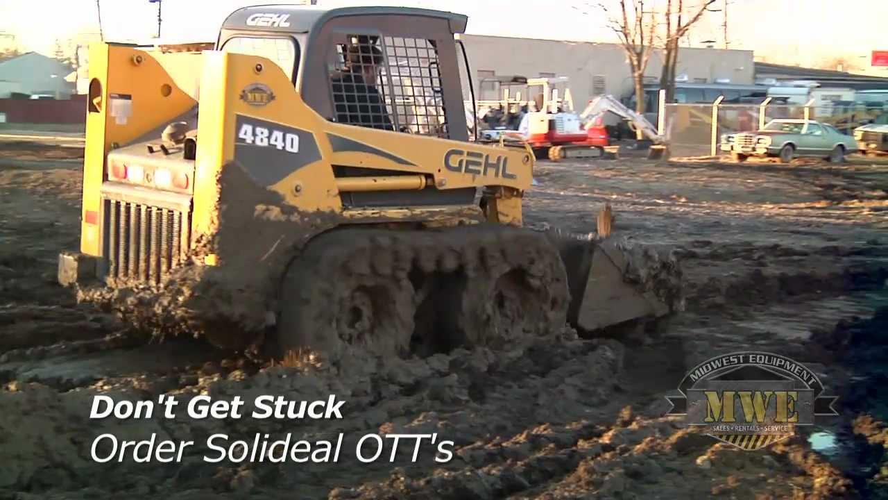 Camoplast Solideal Over The Tire Tracks OTT For Skid Steer