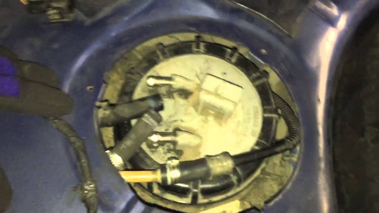 ford diesel fuel filter replacement