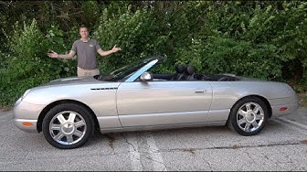 Here's Why the 2002 Ford Thunderbird Was a Retro Failure