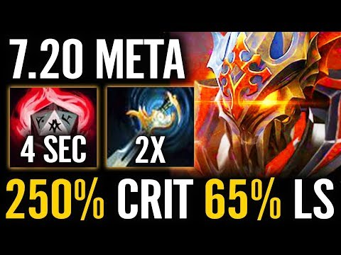 NEW BOSS of 7.20 OP Critical Rate Inyourdream Chaos Knight EPIC Pro Dota 2 Gameplay