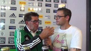 Interviews FC 08 Homburg - SV Eintracht Trier (33.Spieltag, Saison 2013/2014)