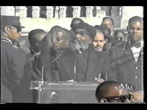 Rev. James Bevel - Million Man March speech