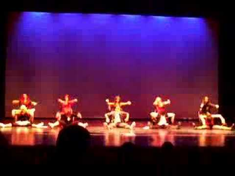 """Broadway"" Staff Dance -- Spirit Rally"