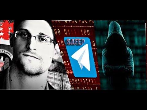 Snowden Explains Why Telegram Messenger App is Unsafe