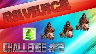 "REVENGE CHALLENGE - ""HOGRIDERS + JUMP SPELLS"" (CLASH OF CLANS)"