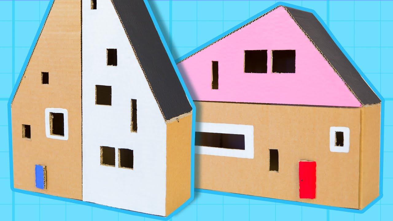 Cardboard house diy