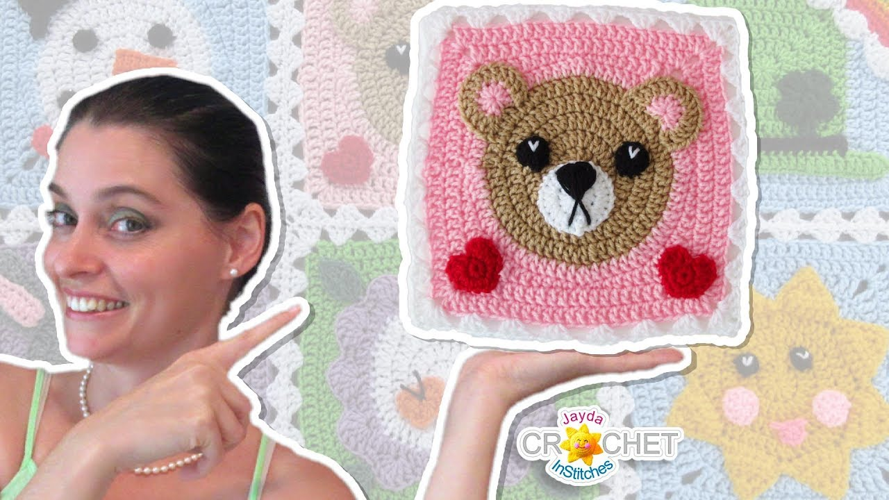 My Hobby Is Crochet: Polar Bear & Brown Bear Appliques - Free ... | 720x1280