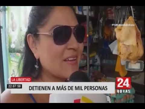 En Loreto, Piura y La Libertad no acatan medidas de emergencia nacional