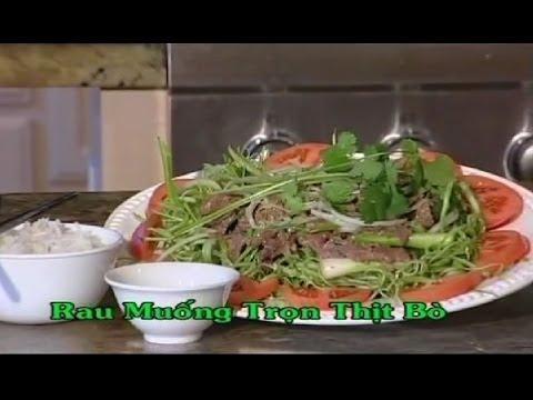 Rau Muống Trộn Thịt Bò - Xuân Hồng