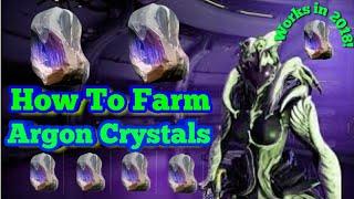 Best Argon Crystal Farm (2018) | Warframe Argon Crystal Farming Guide thumbnail