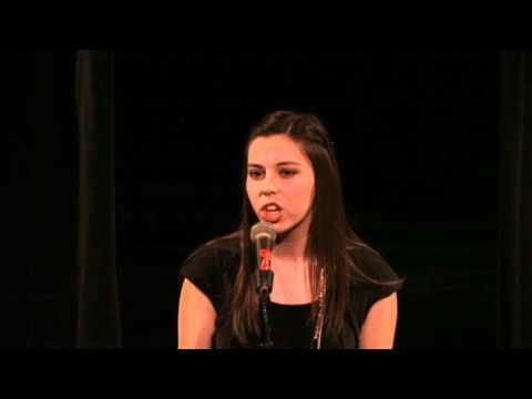 Shannon McCullam, Box Elder High School - 2012 Utah Poetry Out Loud Runner-Up