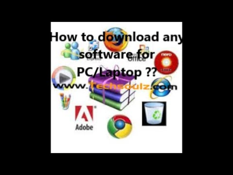 How To Download Any Software/opperating System For PC