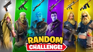 The *RANDOM* JONESY SKIN Challenge!