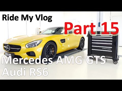 High End Car Detailing Ride My Vlog 15 with Mercedes AMG GT S - Audi RS6 -  Porsche Macan S