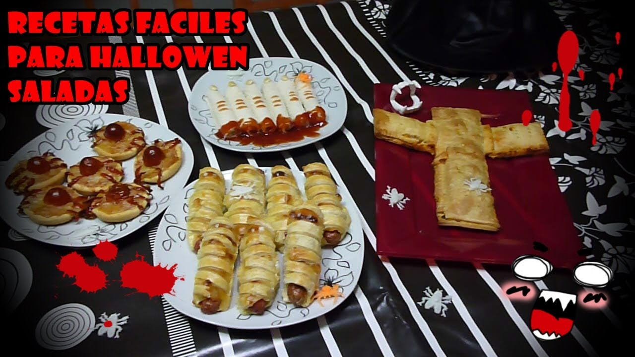 Recetas faciles para halloween saladas easy recipes for for Ideas de comidas faciles