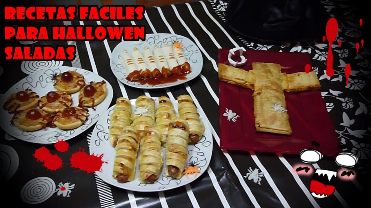 Recetas Faciles Para Halloween Saladas  Easy Recipes For