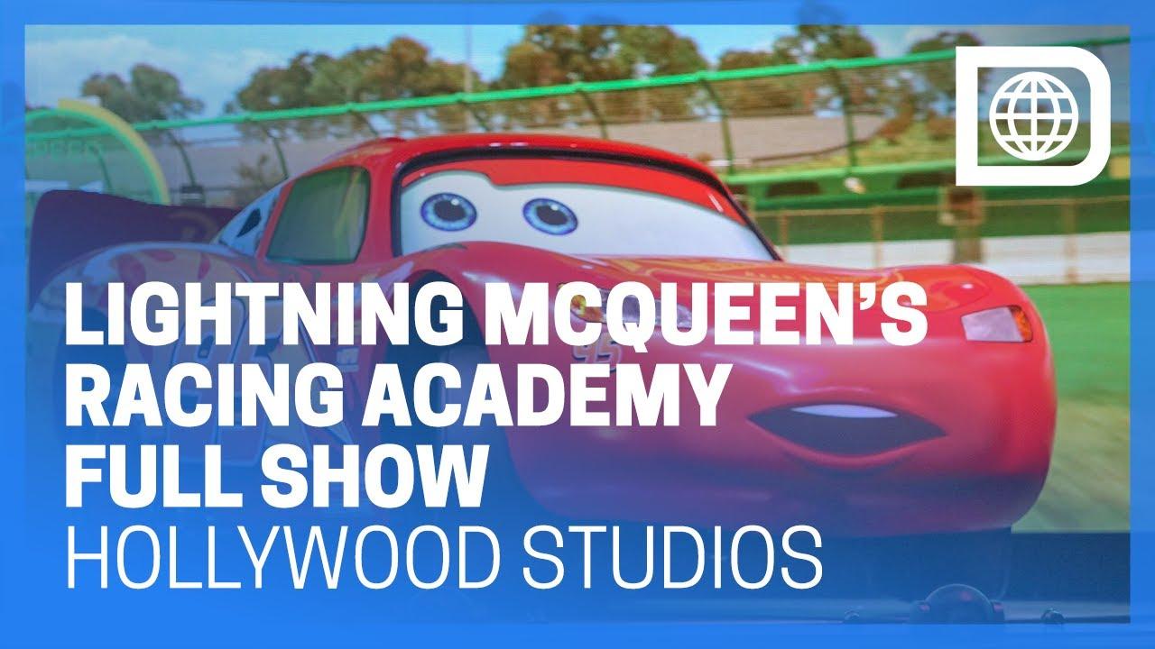 2dfa12ead5f7 Lightning McQueen s Racing Academy - Full Show - Hollywood Studios ...