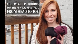 Cold Weather Clothing for the Appalachian Trail