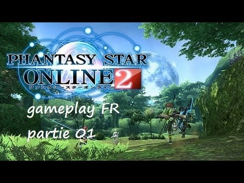 Phantasy star online 2 gameplay français [ partie 01 ]