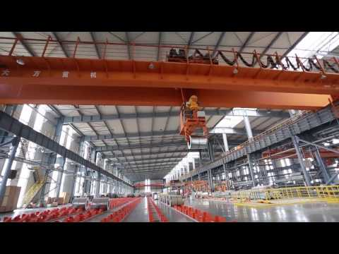 32T Double Girder Overhead Crane with Winch---Dafang Crane