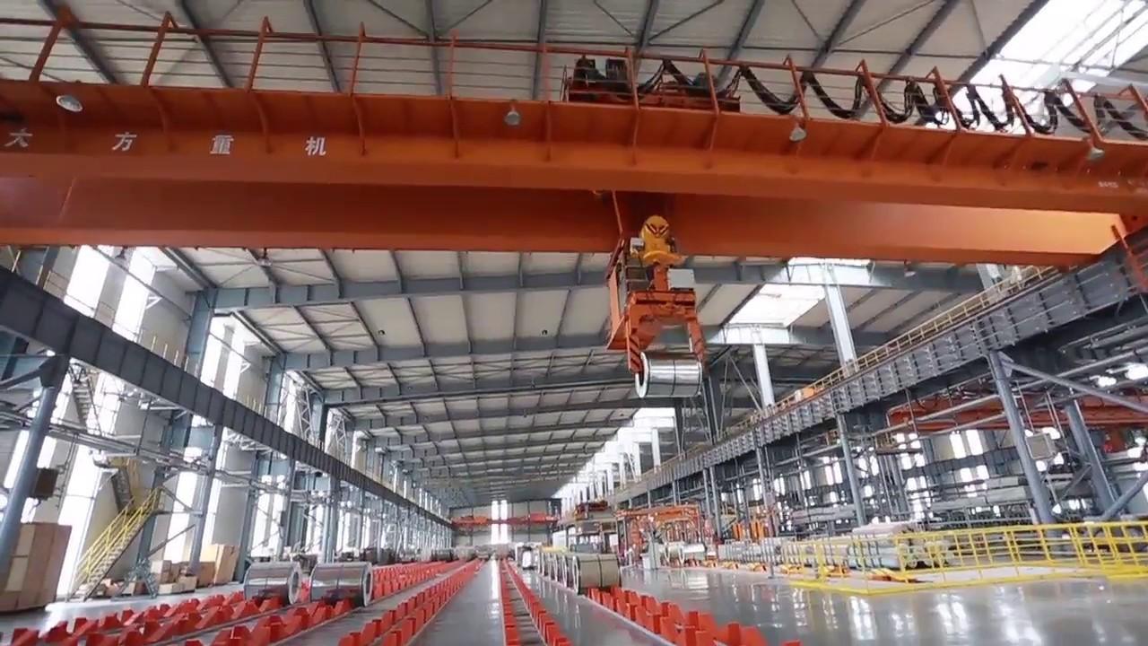 32T Double Girder Overhead Crane with Winch---Dafang Crane