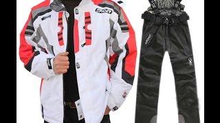 Мужской лыжный спортивный костюм Spider