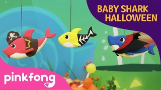 Who took the Baby Shark's Candies | Halloween Songs | Pinkfong Clay | Pinkfong Songs for Children