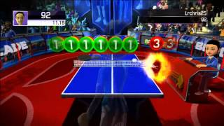 Kinect Sports - Table Tennis - Target Smash (1/23/14)