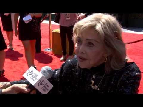 June Foray - Animation voice actress Legend - Gov Award '13