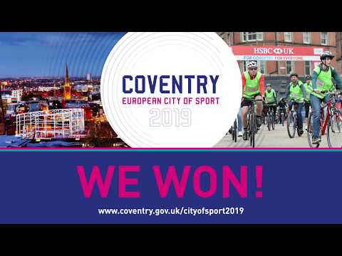 Coventry European City of Sport 2019