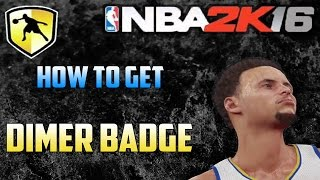 NBA2K16 Dimer Badge Tutorial - How To Get More Assists