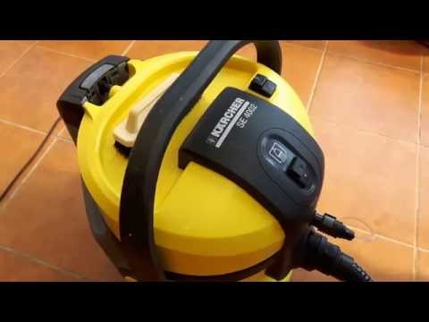 Karcher SE 4001/4002 Tepovanie
